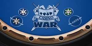 Casino War, test your luck