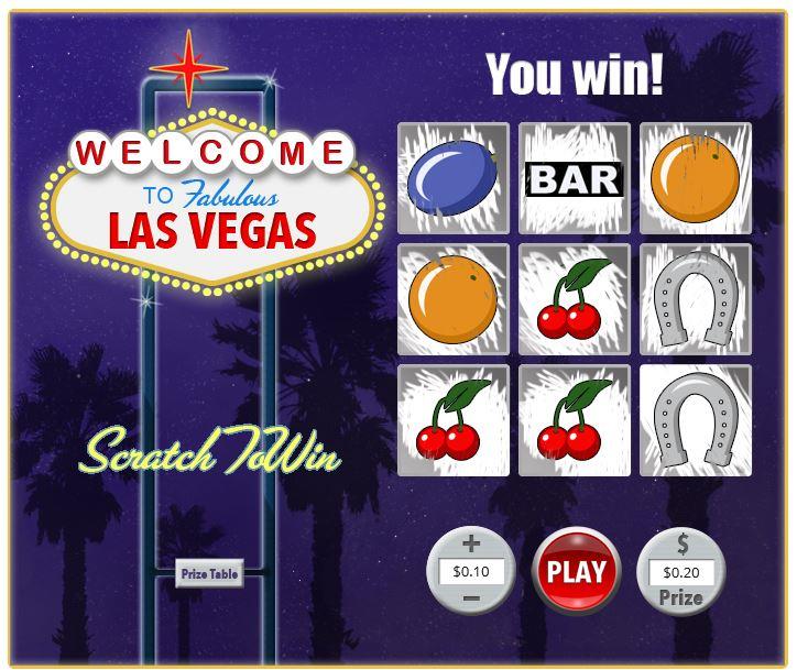 Las Vegas Scratch in-game