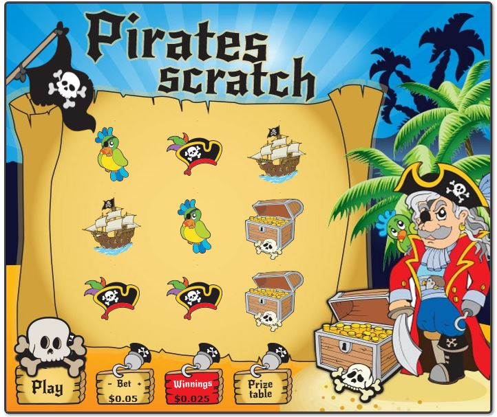 Pirate Scratch