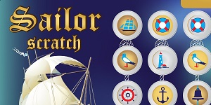 Sailor Scratch, test your luck