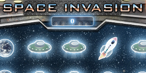 Space Invasion, test your luck